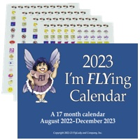 The 2017 FlyLady Calendar and Student Sticker Kit