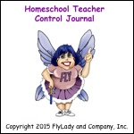 Homeschool Teacher Control Journal