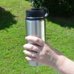 FlyLady's 18 ounce Stainless Water Bottle