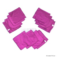 Mini Hot Pink Rags in a Bag