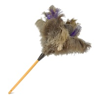 Silver Premium Feather Duster